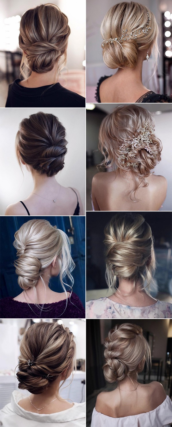 trending elegant bridal updos wedding hairstyles