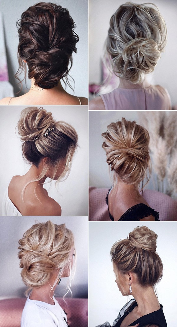 trending updo wedding hairstyle ideas