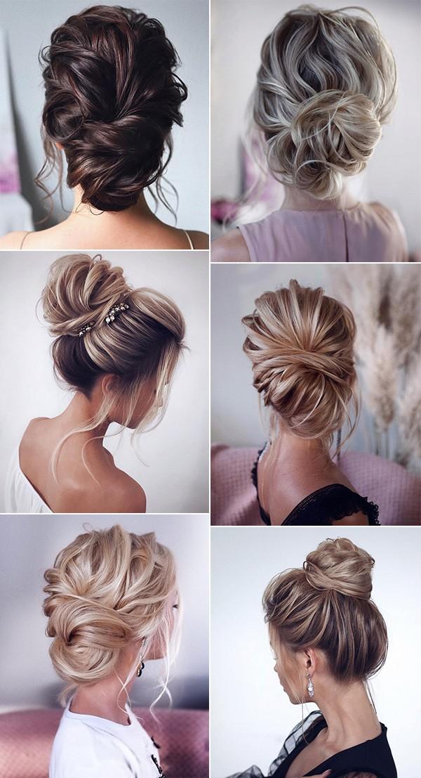 trending updo wedding hairstyle ideas