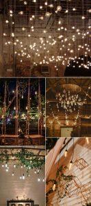 trending wedding lighting ideas with Edison bulbs