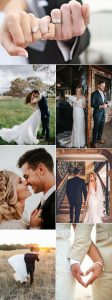 bride and groom romantic wedding photo ideas