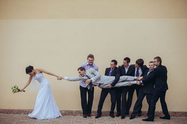hilarious wedding photo ideas