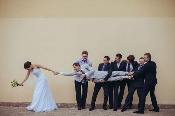 hilarious wedding photo ideas
