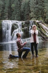 river falls romantic proposal ideas