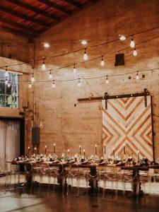 simple loft wedding reception ideas
