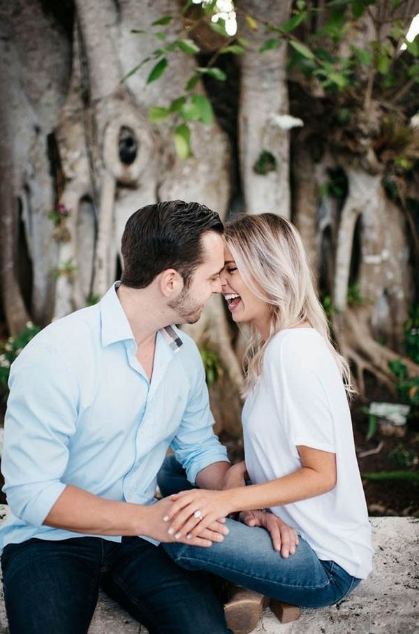 sweet proposal picture ideas with ring shot
