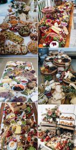 trending charcuterie tables wedding food ideas