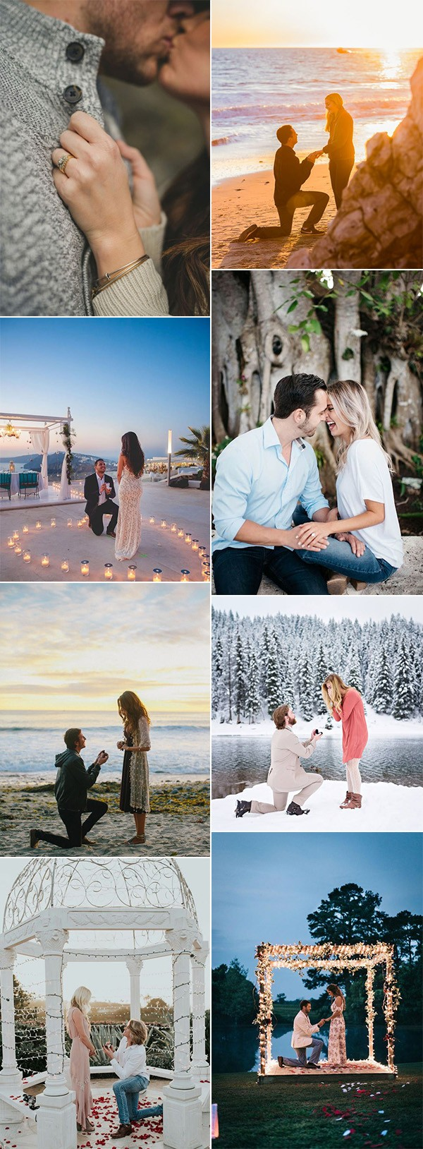 trending wedding proposal picture ideas to steal