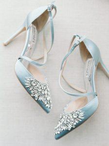 something blue heels for bride