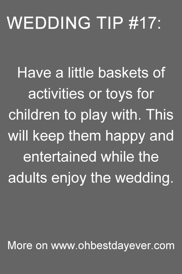 wedding planning tip you need to know