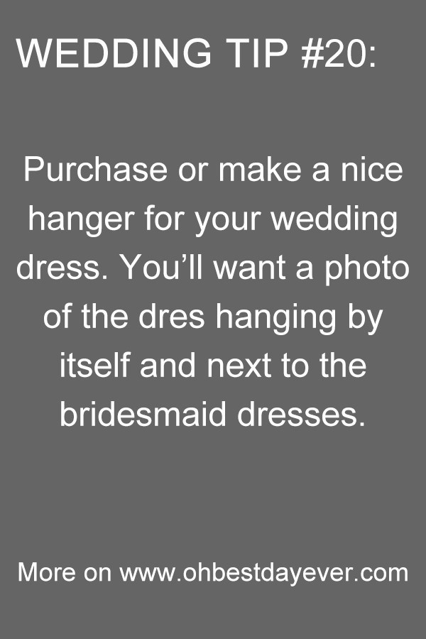 wedding tips for planning