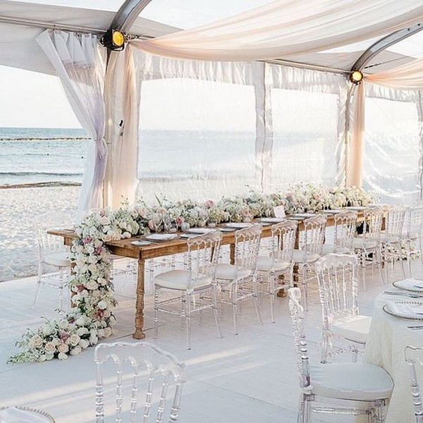 Beach Wedding Decorations Ideas: 20 Stunning Beach Wedding Reception Ideas For Summer 2019