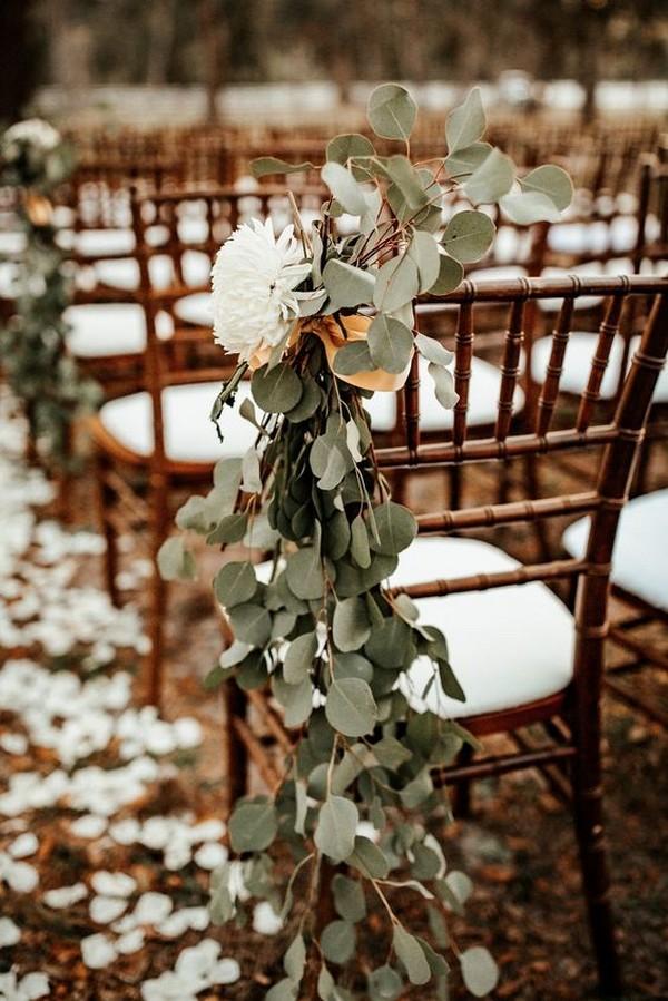 boho chic outdoor wedding aisle ideas
