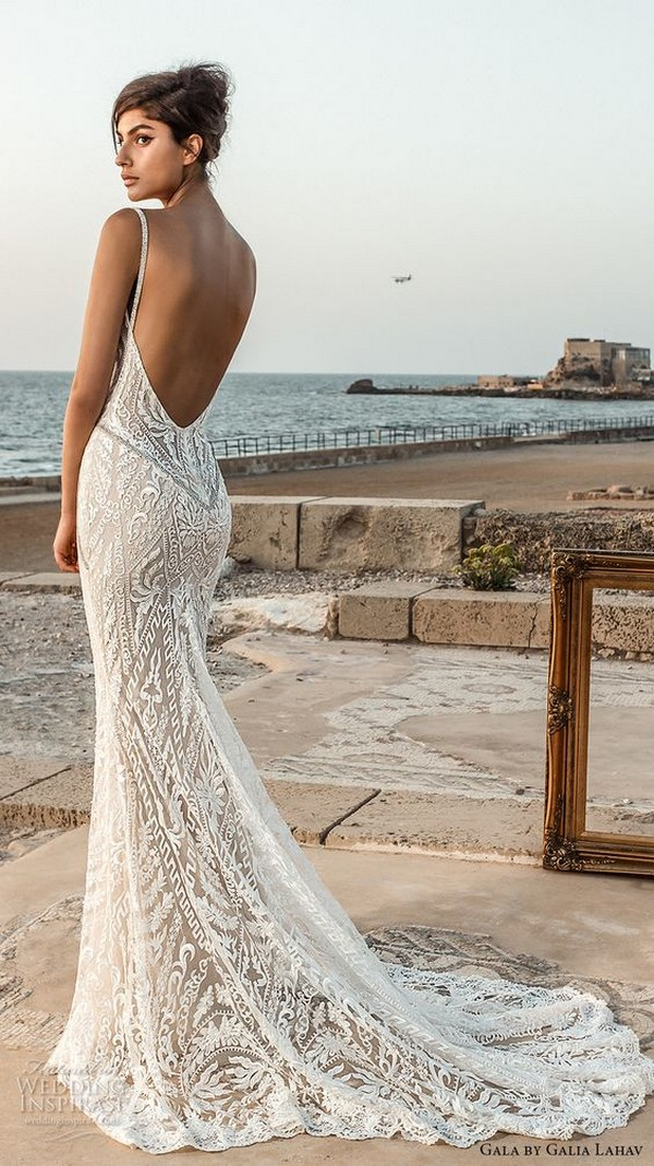 galia lahav gala open back beach wedding dress