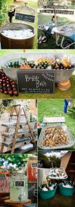 outdoor wedding drink station ideas for 2019