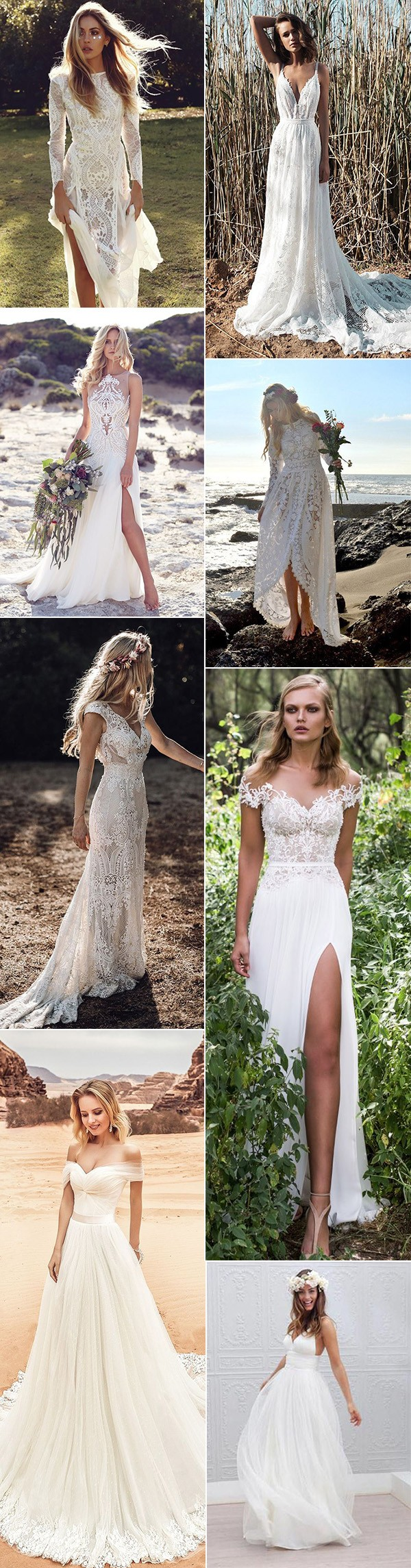 pretty beach wedding dresses for 2019 brides