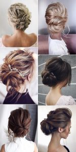 pretty updo wedding hairstyles for 2019 trends