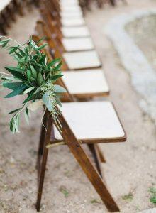 simple elegant outdoor wedding aisle ideas