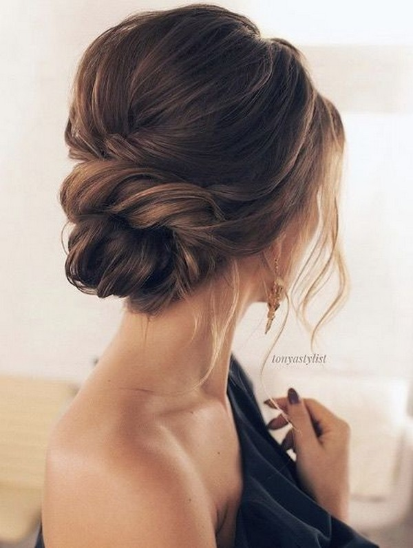 trending updo wedding hairstyle