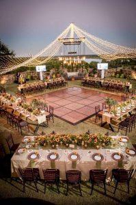whimsical outdoor wedding reception ideas