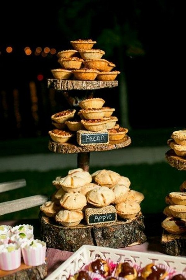 outdoor backyard fall wedding ideas