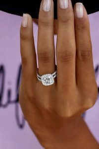 princess cut diamond wedding engagement ring