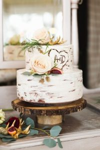 rustic wedding cake ideas for fall