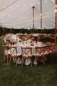 tented wedding reception ideas for fall