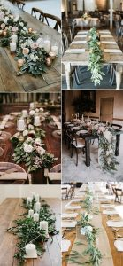 trending long table wedding decoration ideas