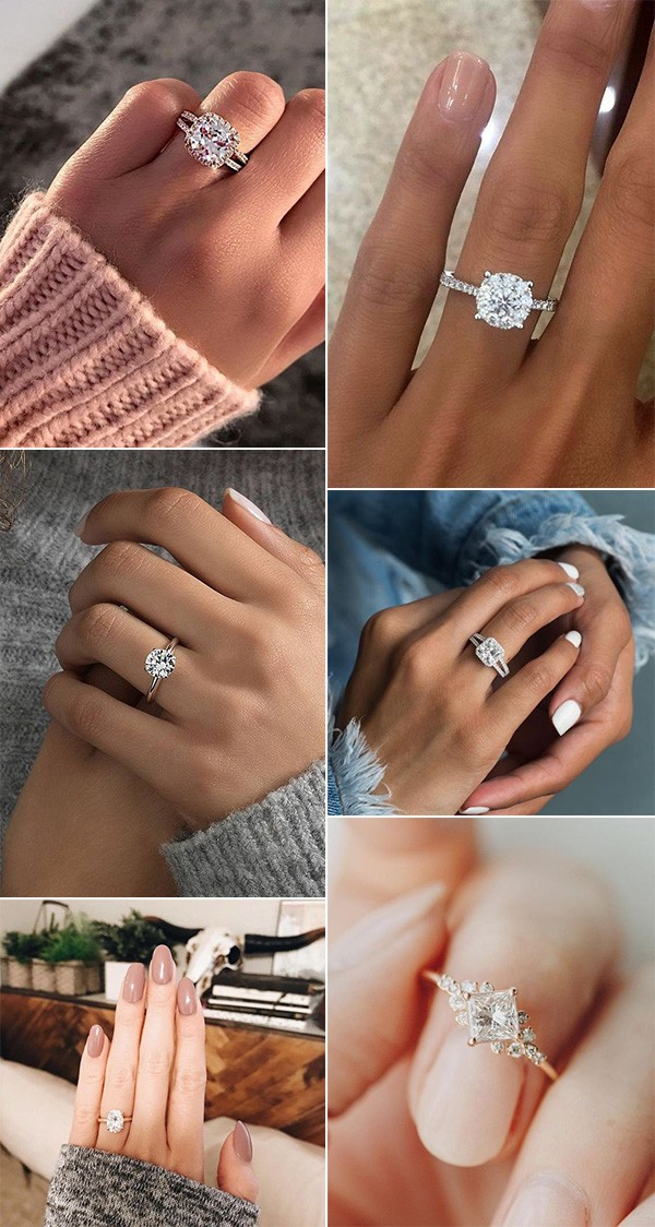 trending wedding engagement rings for 2019