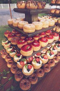 country themed wedding dessert bar ideas