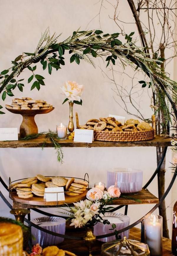 creative wedding dessert display ideas