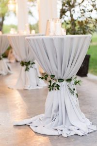 elegant wedding table decorations with candles