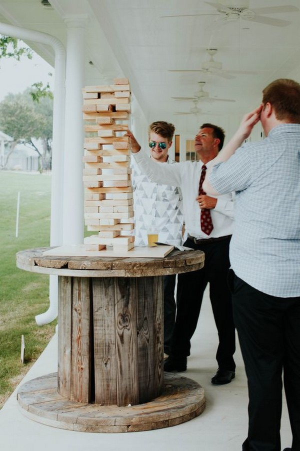 outdoor wedding game ideas