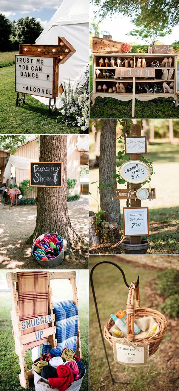 trending outdoor wedding ideas
