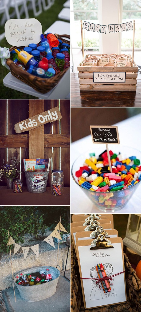 trending wedding ideas for kids