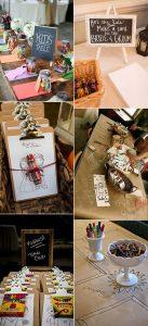 wedding kids table ideas to entertain them