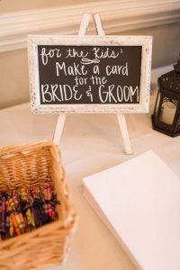 wedding reception ideas for kids