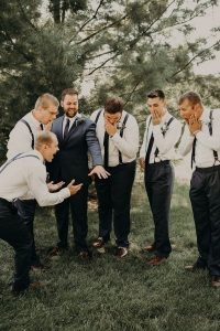 Funny Groomsmen pictures Wedding Photography