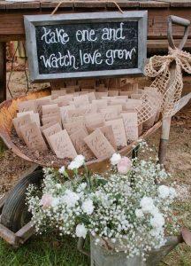 Wildflower seed wedding favors 2