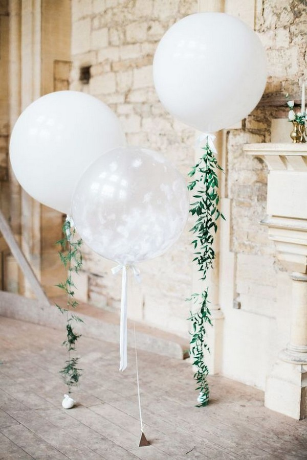 balloons wedding decoration ideas