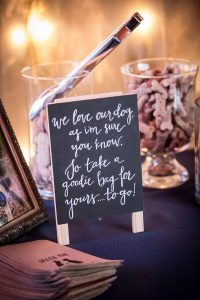 diy dog treats wedding guest favors