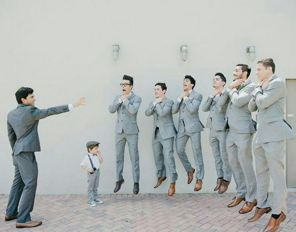 fun groomsmen photo ideas