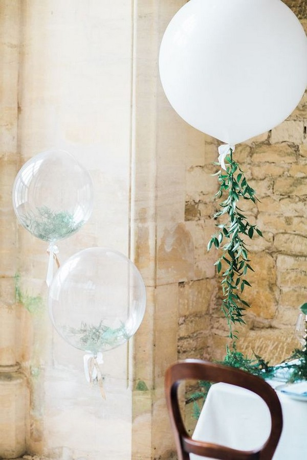 giant balloon decoration ideas for wedding reception