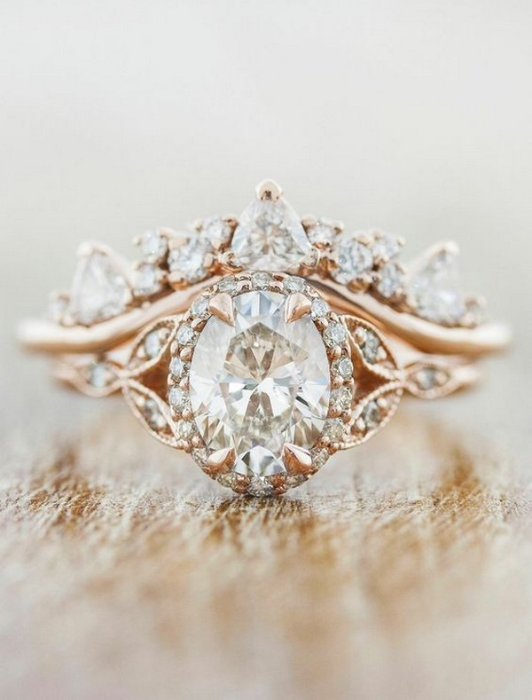 stunning vintage engagement ring