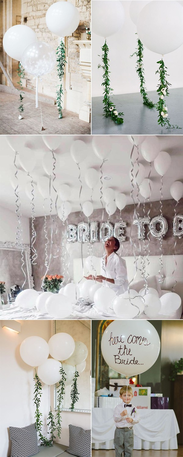 trending balloons wedding decoration ideas