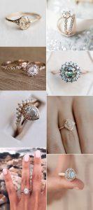 trending vintage diamond wedding engagement rings