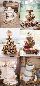 vintage rustic wedding cake ideas