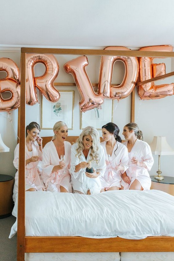 wedding day moring getting ready photo ideas