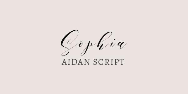 Aidan Script